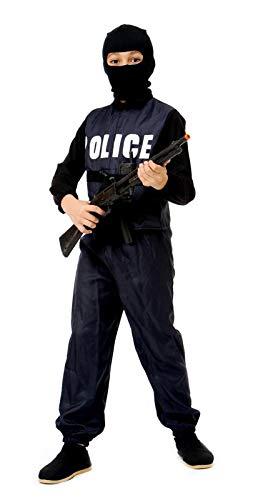 CARNIVAL KOSTÜM SWAT POLIZEI Kind 11 - 14 Jahre - TG ()