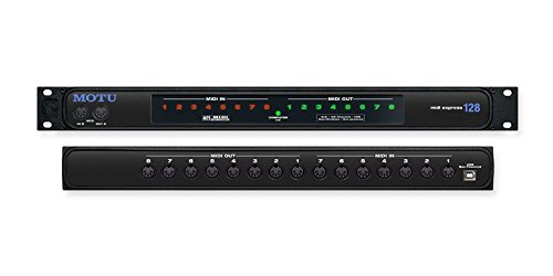 MOTU MIDIEXPRESS128   INTERFACE MIDI EXPRESS 128