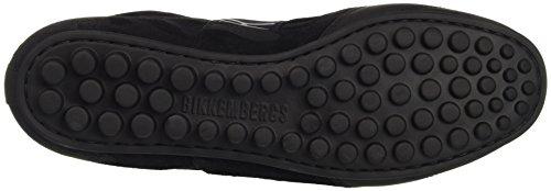 BIKKEMBERGS Herren Soccer 772 Low Shoe M Suede/Lycra Pumps Nero (Camouflage Black)