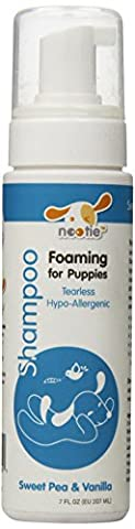 Nootie Sweet Pea and Vanilla Foaming Tearless Shampoo for Dogs, 7 oz