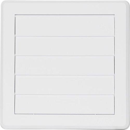 lembi di 175X175mm Griglia di aerazione Gravità coperchio 5 175x175mm bianco Ø125mm copertura