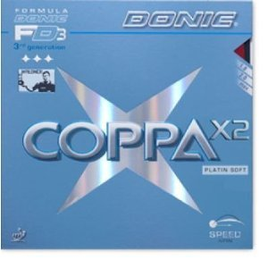 Donic Coppa x2Platine Soft Max Rouge
