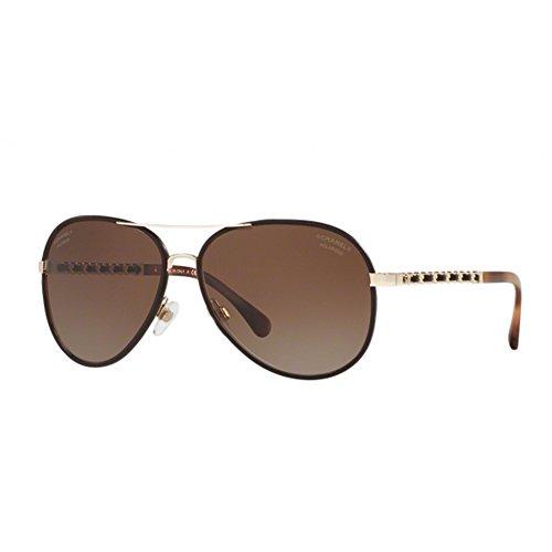 chanel-ch4219q-c395s9-occhiale-da-sole-marrone-brown-sunglasses-sonnenbrille-new