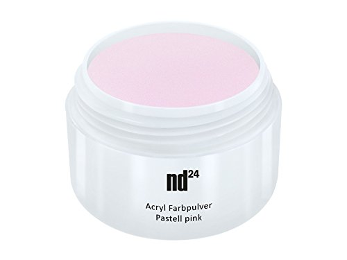Acryl Farbpulver Pastell pink ROSA - nd24 BESTSELLER - Feinstes FARB Acryl-Puder Acryl-Pulver...