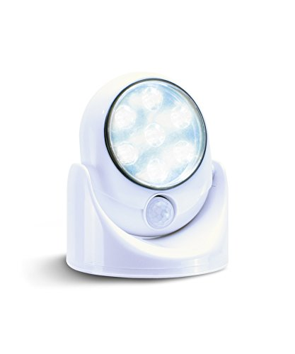 LED Nachtlicht Bewegungsmelder Batterie | LED Sensor Licht Bewegungsmelder innen & aussen | LED Leuchte mit Bewegungsmelder | Dämmerungsautomatik