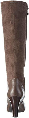 Geox D New Mariele High B, Bottes Hautes Femme Braun (CHESTNUTC6004)