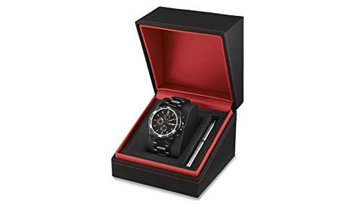 BMW Neu Original M Performance Schwarz Chronograph Uhr 43cm 80262406694
