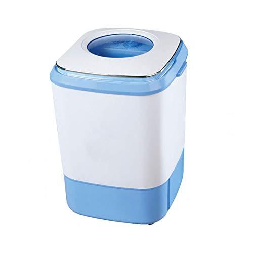 MOUTALE Combinaison De Mini Machine à Laver Et SèChe-Linge Portables 2 en 1 pour Enfants, Lessive Compacte 4kg + SéChage 2kg, Convient Au Lavage du Linge des BéBéS Et des Enfants (Bleu, Rose)