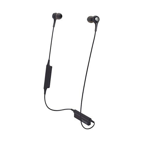 Audio Technica ATH-CK200BT Wireless Bluetooth Earphones (Black)