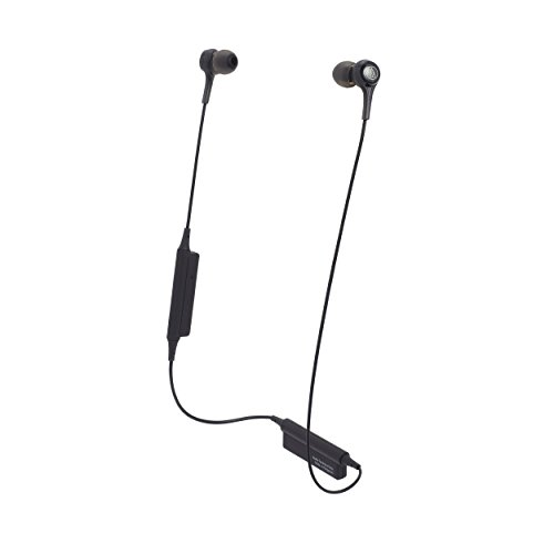 Audio Technica ATH-CK200BT Wireless Bluetooth Earphones (Black)