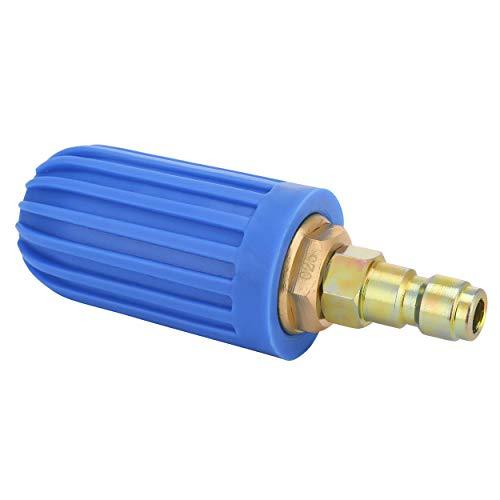 M MINGLE Hochdruckreiniger, drehbare Düse, Drehspitze, 6,35 mm, 2900 psi -