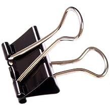 Q Connect Pinces double clip 32mm (Lot de 10)