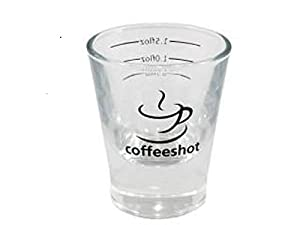 2oz Espresso Shot Glass - Coffeeshot