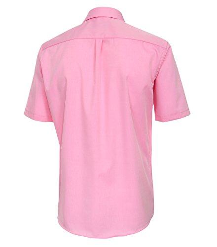 Casa Moda Comfort Fit Bügelfreies Herren kurzarm Hemd in verschiedenen  Farben 008060 Rosa 403 c1d47b6da8