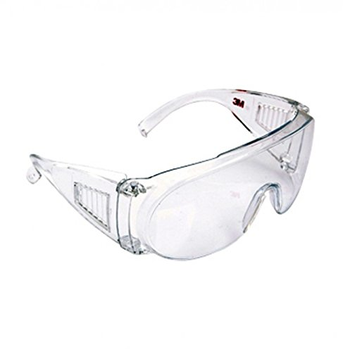 3MTM 1611 Clear lens Eye Protection Glasses Visitor Specs Bike Riding Goggles