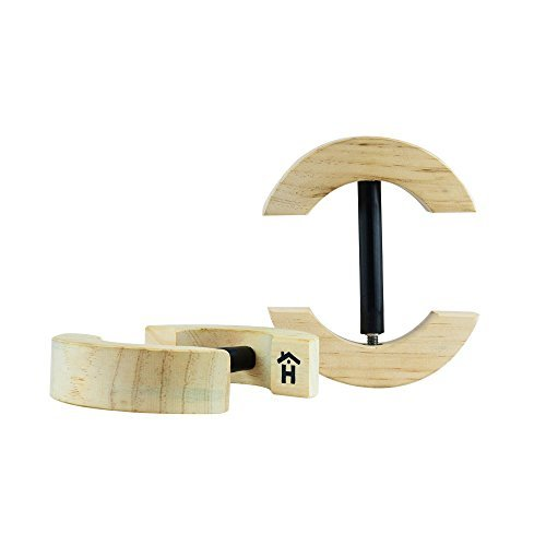Houseables Hut-Stretcher, Einheitsgröße, Holz, strapazierfähig, verstellbar, für Cowboy, Baseball, Strohhalm, für Damen und Herren geeignet, Filz, ovale Mütze, Fedora, Hüte, Shaper