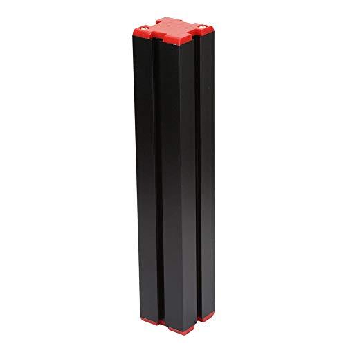 Langer Aluminiumblock, roter Aluminiumlegierung Z002 Langer Lagerblock für Reitstock/Hauptlager