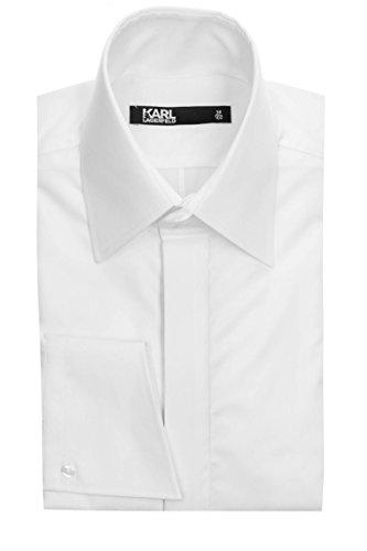 Karl Lagerfeld Hemd Extravaganza für Herren Weiß 42