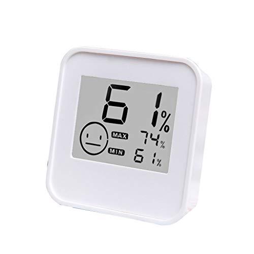YTS Higrómetro Interior del termómetro del hogar, indicador Digital electrónico del Sitio de Alta...