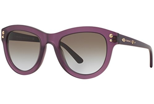 Versace Unisex VE4291 513968 Sonnenbrille, Violett (Purple), One size (Herstellergröße: 53)