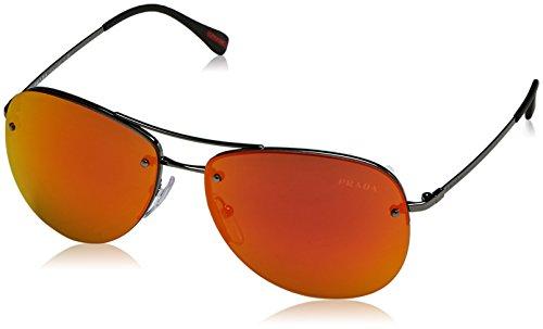 Prada Linea Rossa Unisex Sonnenbrille, Grau, One size (Herstellergröße: 59)
