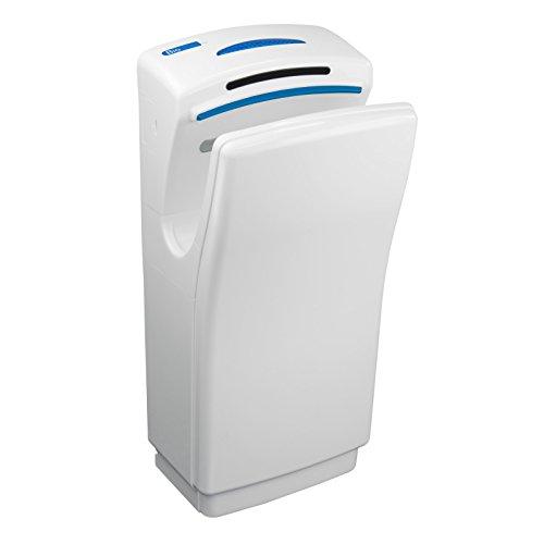 Biodrier Business 2 Kommerzielle Händetrockner Bürstenloser Motor Langlebig Energieeffizient (Weiß) -