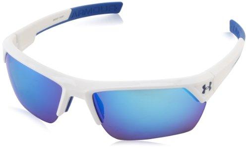 Under Armour Herren-Sonnenbrille Zünder 2.0, Weiß, Ua Drive
