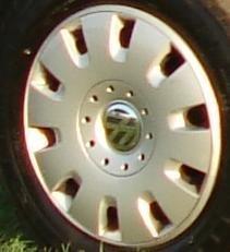Enjoliveurs 16 - Original Volkswagen VW Pièces VW Enjoliveur de