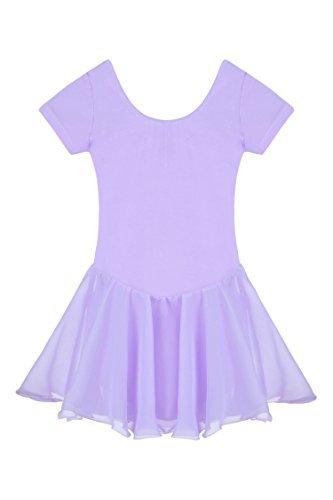 Baby Ballett Skate Kostüm Rundhalsausschnitt Kleid Tanzen Ballet (Tanzen Kostüme Für Kinder)