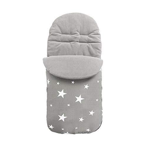 Saco de dormir universal para cochecito de bebé Invierno a prueba de viento Impermeable Cubierta de pie caliente Saco de...