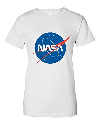 2b NASA Space Logo Camiseta de Mujer XX-Large