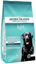 2x 12kg Arden Grange Light Huhn & Reis Adult Trockenfutter für Hunde AVSL Bügelkopfhörer