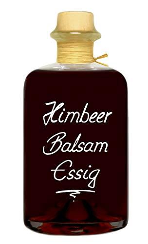 Himbeer Balsam Essig 80% Fruchtanteil 0,5L intensive Himbeernote 5% Säure