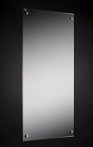 Spiegel Infrarotheizung mit Thermostat 300 Watt 60x70cm Infrarot Heiz Spiegel Paneele 100.000 Std Lebensdauer