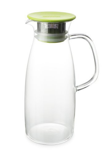 Forlife mist Glass Ice Tea Jug, 1.445,8 gram, lime
