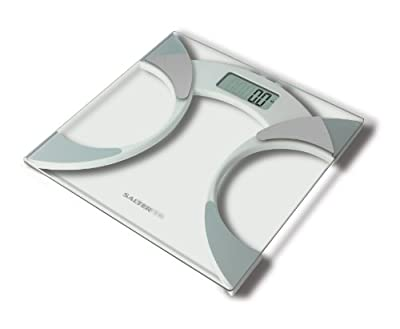 Ultra Slim Analyser Bathroom Scales, Measure Weight BMI BMR Body Fat Percentage Body Water