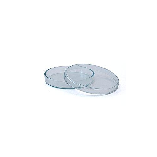 3 x Petrischale 60x12mm aus Kalk-Soda-Glas ohne Nocken - bis 135°C im Autoklaven sterilisierbar - Petrischalen, Kulturschale, Agar Agar Schale, Zellkulturschale, Kulturschalen, Agar Agar Schalen, Zellkulturschalen