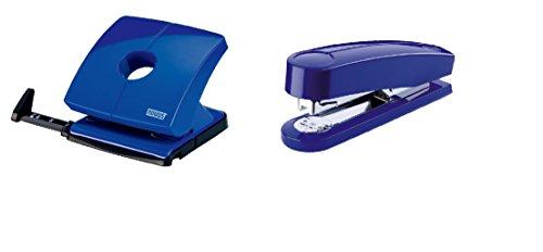 Novus, Locher B225 und Hefter B4 Sparpack Farbe blau