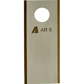 Schrauben f/ür Worx M/ähroboter Arnold 1111-W1-1009 AR4 9X TiN-Cut Ersatzklingen inkl