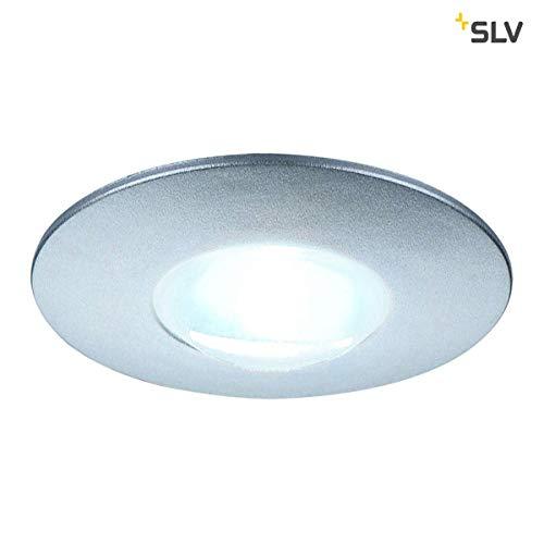 SLV DEKLED Leuchte Indoor-Lampe Kunststoff PC/Aluminium Silber Lampe innen, Innen-Lampe -