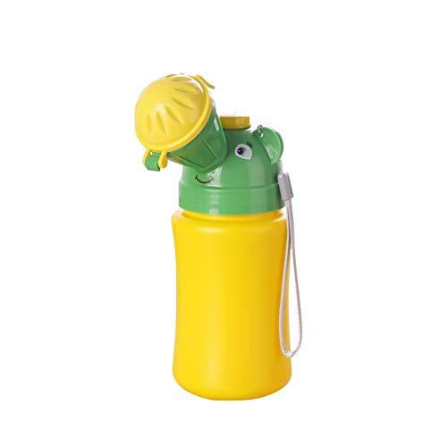 MEETGG Tragbar Kind Töpfchen Urinal Verbinden Urin Säugling Notfall Toilette zum Camping Auto Reise und Kind Töpfchen Pinkeln Ausbildung,A