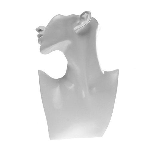 Baoblaze espositore di gioielli gioielleria porta orecchini bracciali collane bigiotteria - 3