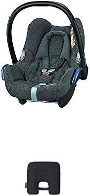 Bébé Confort Cabriofix Seggiolino Auto 0-13 kg, Ovetto Gruppo 0 +, 0-12 Mesi, Sparkling Grey, con Dispositivo