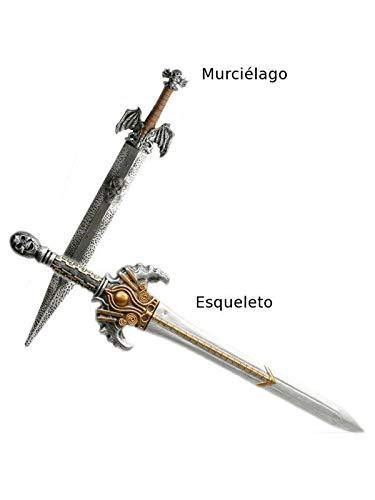 DISBACANAL Espada Barbara empuñadura Dorada - Murcielago