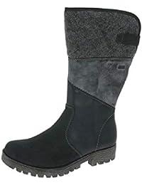 Rieker children's boots K4372 01 black: Amazon.co.uk: Shoes