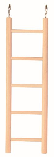 Trixie Wooden Ladder with Five Rugs, 24 cm 1