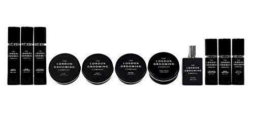 Crema Define per uomo della London Grooming Company Tenuta molto forte e finitura di media lucentezza Prodotto per capelli a base di acqua 50 ml