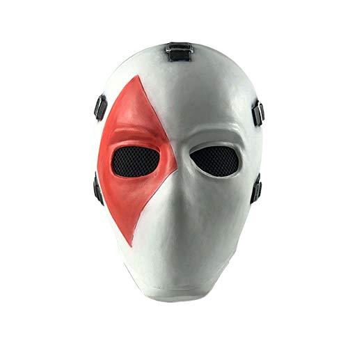 Puurbol Poker Face Halloween Kostüm Party Kopf Maske Cosplay (Poker Face Kostüm)