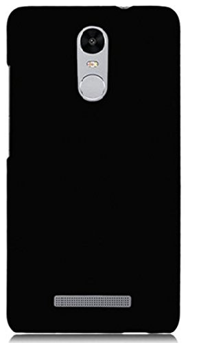 Tidel MI-NOTE3BLK-BK-1 Ultra Thin and Stylish Rubberized Back Cover for Xiaomi RedMi Note 3 ( Black )  available at amazon for Rs.99