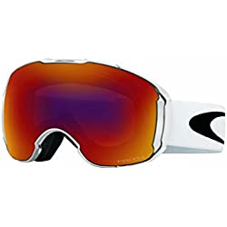 Oakley Airbrake XL Skibrille, Polished White/Prizm Torch Iridium/Prizm